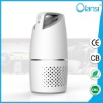 Car air purifier filter with ionizer